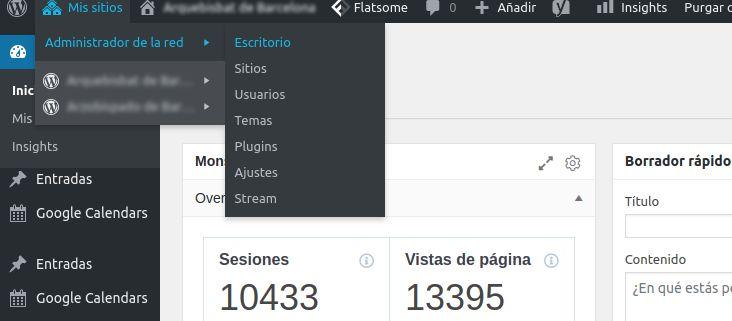 Multisitio en WordPress multilingualpress